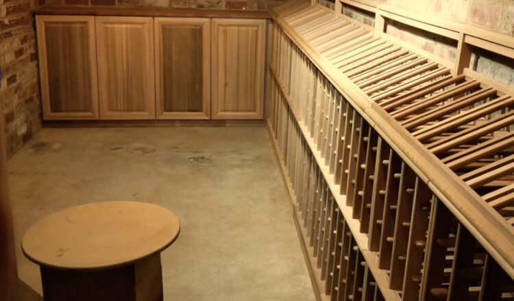 Peninsula Wine Cellar Room