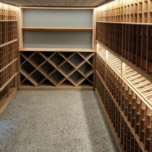 Kew Cellar Racking Fitted